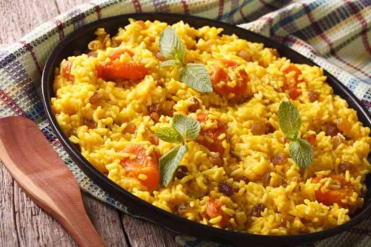 طريقة عمل الأرز الأصفر  لوجبات شهية متنوعة