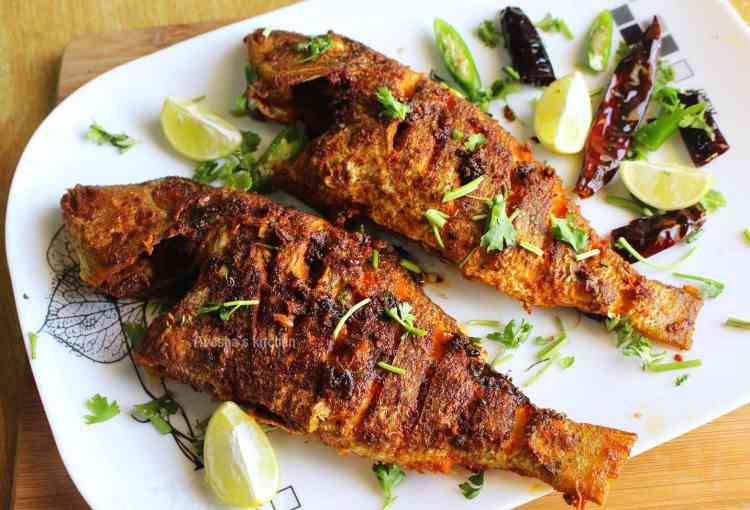 طريقة عمل السمك المقلي المقرمش بوصفات وتتبيلات شهية