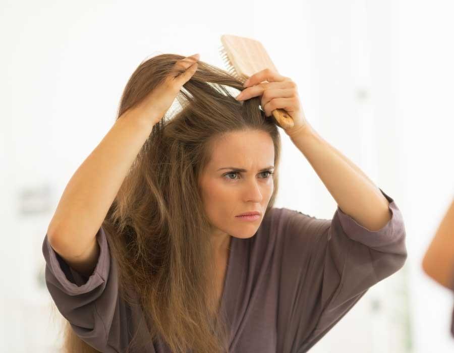علاج قشرة الشعر المزمنة نهائيا في المنزل