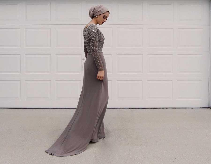 f1fbaa7c81065 الخميس ٢٩ نوفمبر ٢٠١٨ فساتين سواريه للمحجبات من وحي مُدونات الموضة الأنيقات