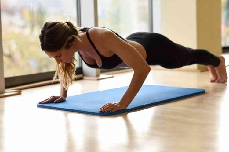 فوائد تمرين الضغط للجسم وفقدان الوزن