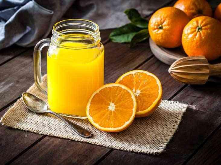 فوائد عصير البرتقال المنعش والغني بالقيمة الغذائية