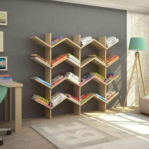مكتبات مودرن رائعة تمنح منزلك لمسات ديكورية مختلفة