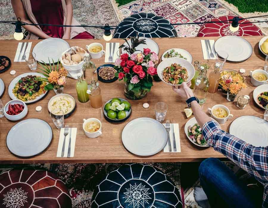 منيو سابع يوم رمضان بوصفات مصرية ولبنانية شهية