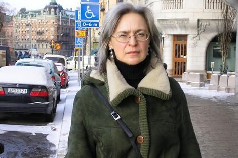 """من هي """"آنا بوليتكوفسكايا"""" التي حصل حسام بهجت على جائزتها؟"""