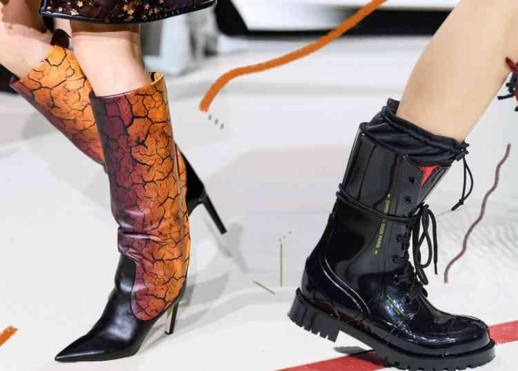 موضة أحذية شتاء 2020 لأقدام دافئة وإطلالات أنيقة