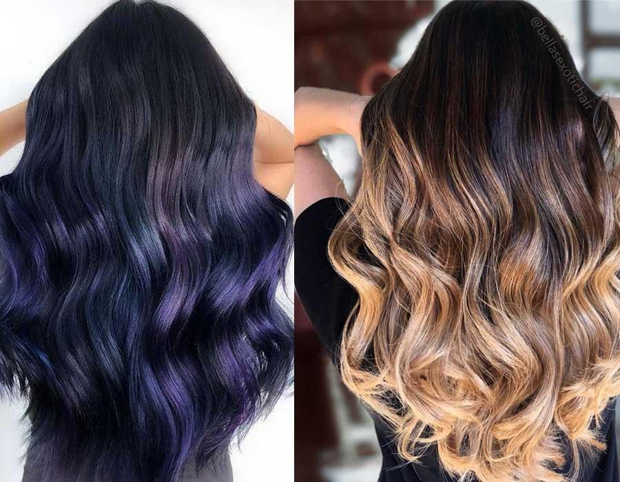 36b66c4961757 الأربعاء ٠٣ أكتوبر ٢٠١٨ موضة ألوان صبغات الشعر لشتاء 2019