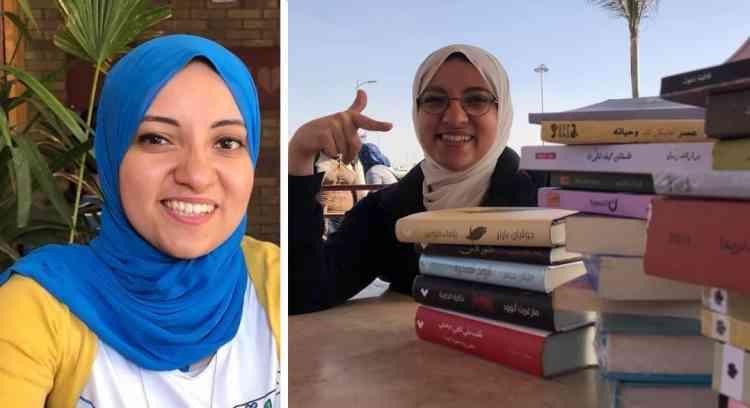 """ندى الشبراوي """"دودة كتب"""" تشارك آرائها عبر يوتيوب"""