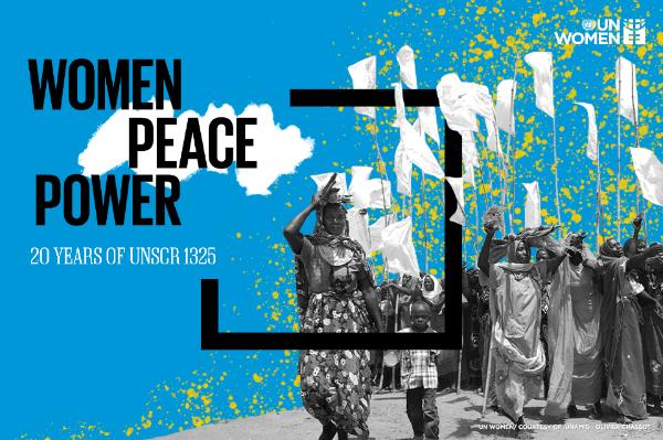 نشرة الأمم المتحدة للمرأة: إدماج النساء لتحقيق السلام