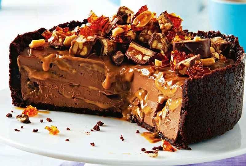 طريقة عمل الشيز كيك البارد بالشوكولاتة