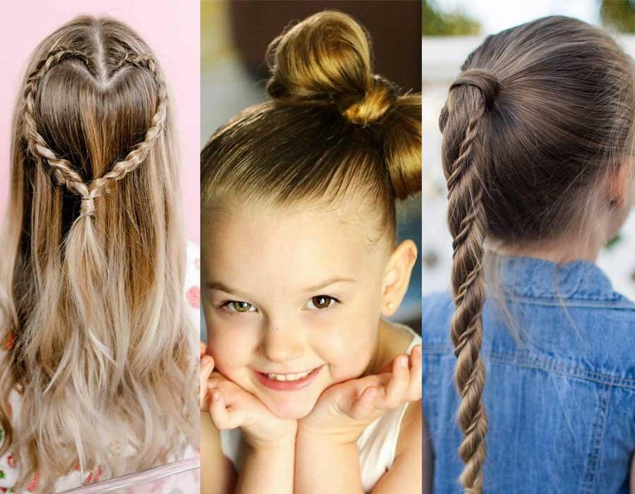 6 أفكار لتسريحات شعر للأطفال يُمكنكِ تنفيذها بسهولة