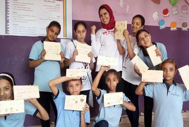أماني عبد العال تسعى لنشر الويندو في المدارس والمحافظات