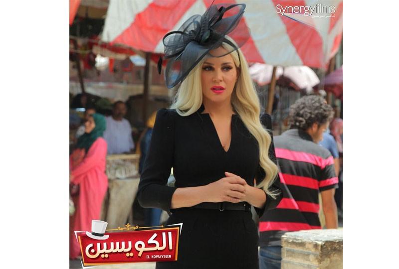 شيرين رضا تتألق بالأسود