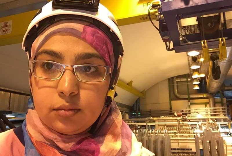 شيماء ابو زيد أول مصرية في سيرن