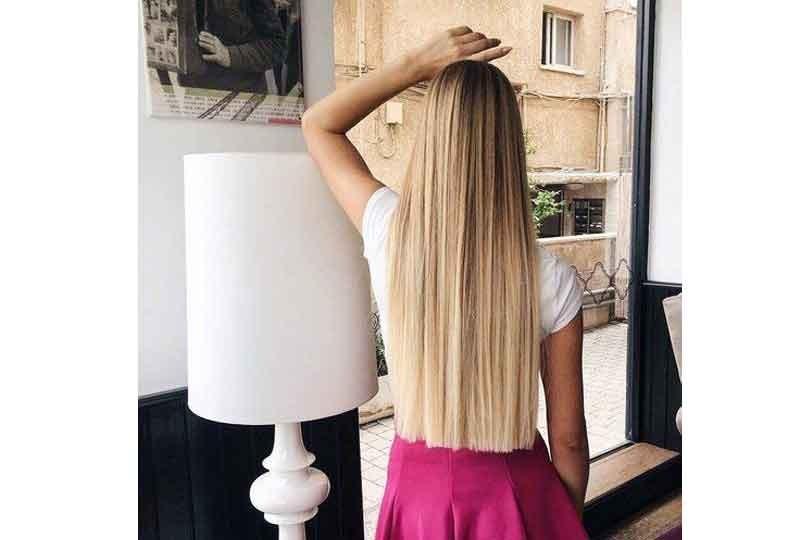 موضة قصات شعر 2018 الشعر الطويل المفرودذو الطول الواحد