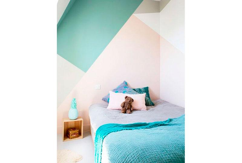 غرف اطفال ملونة