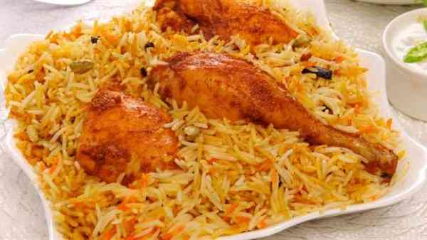 طريقة عمل الأرز البسمتي بالكركم والفراخ