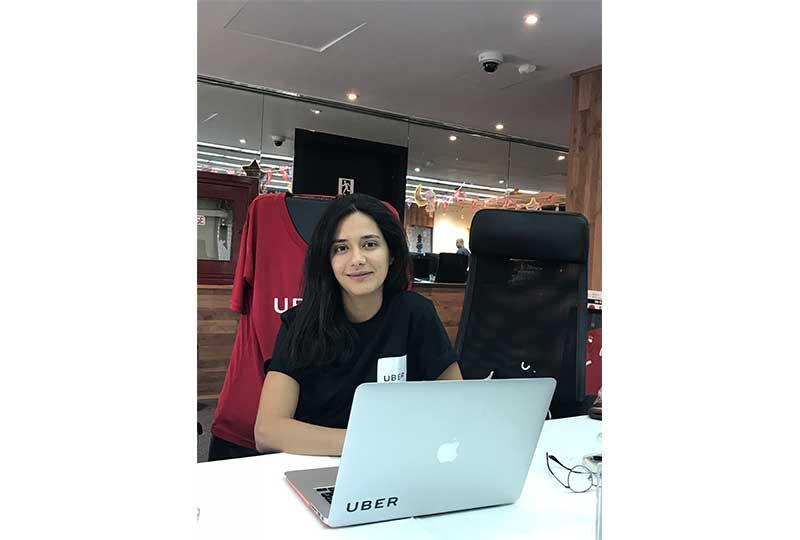 نيللي عليوة مديرة التسويق في اوبر