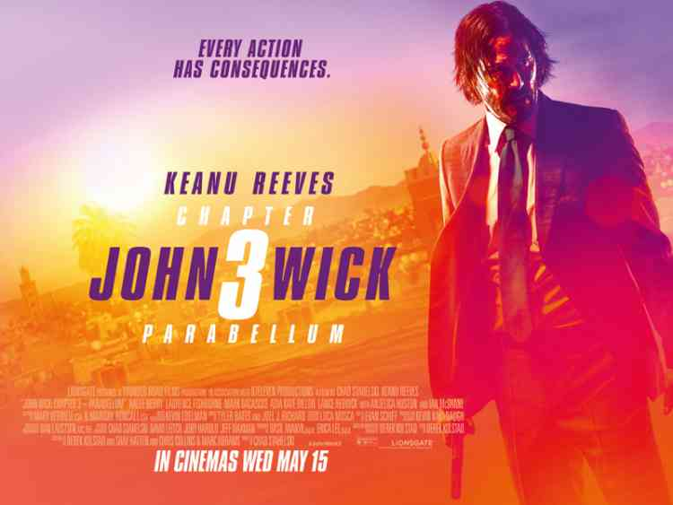 فيلم الأكشن John Wick: Chapter 3 – Parabellum