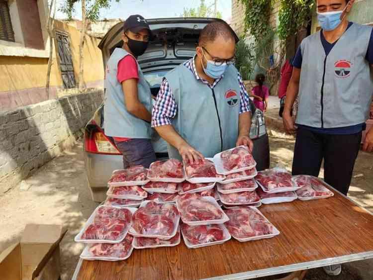 مبادرة مستورة توزيع اللحوم