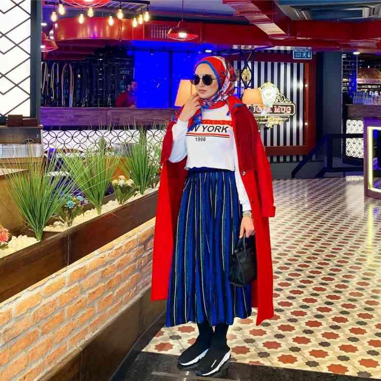 أزياء محجبات تركية كاجوال شتوية