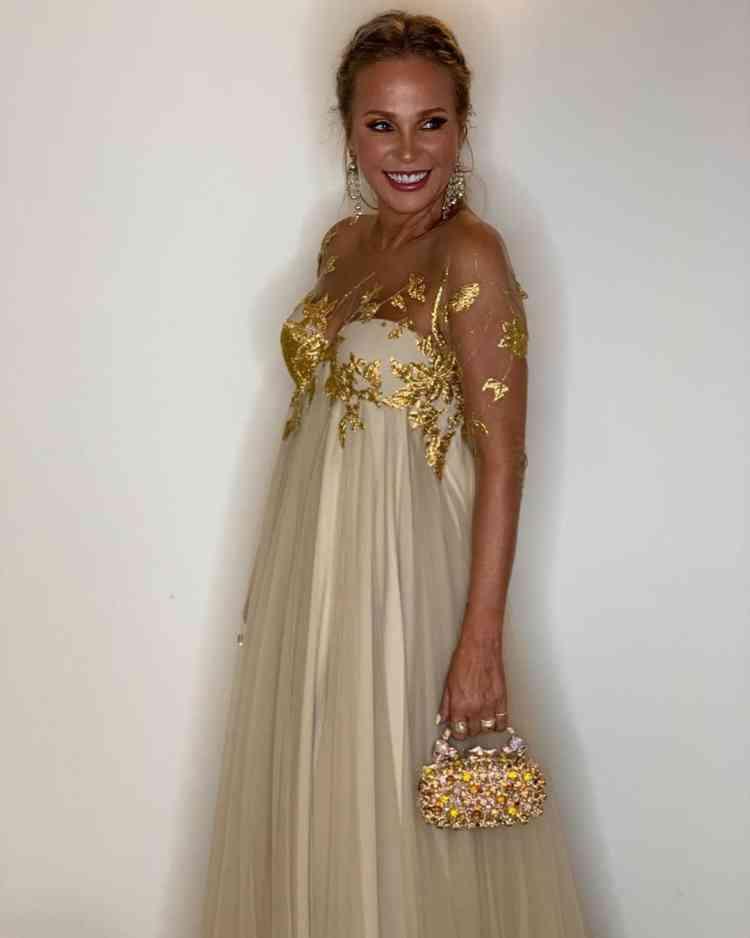 فستان شيرين رضا من مهرجان الجونة 2019