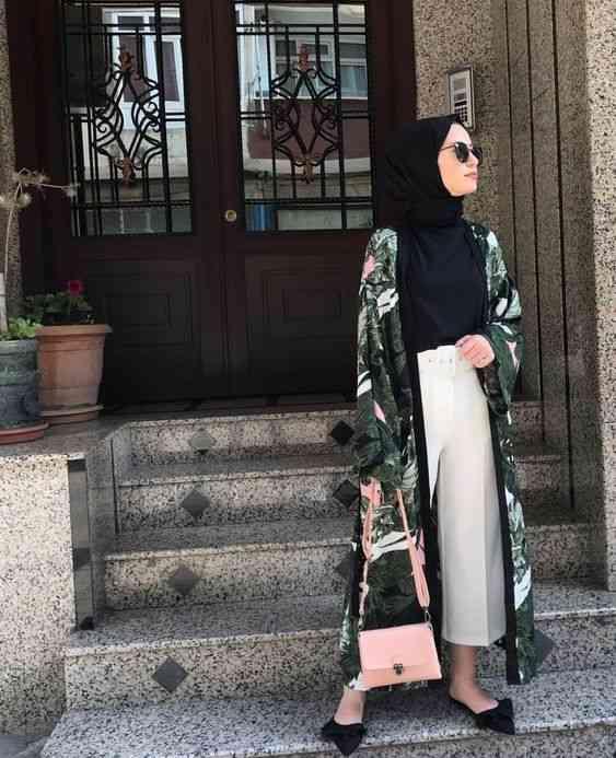 ملابس محجبات كاجوال كارديجان طويل