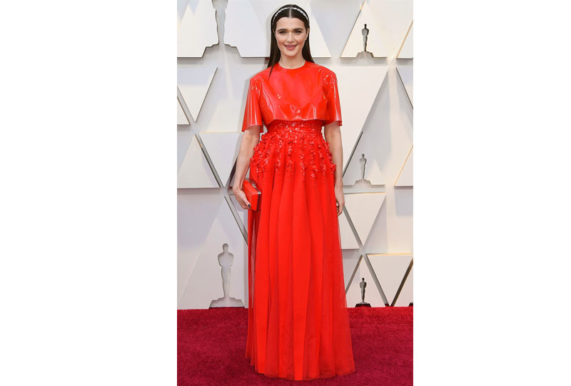 فساتين الأوسكار 2019 فستان راشيل ويسز