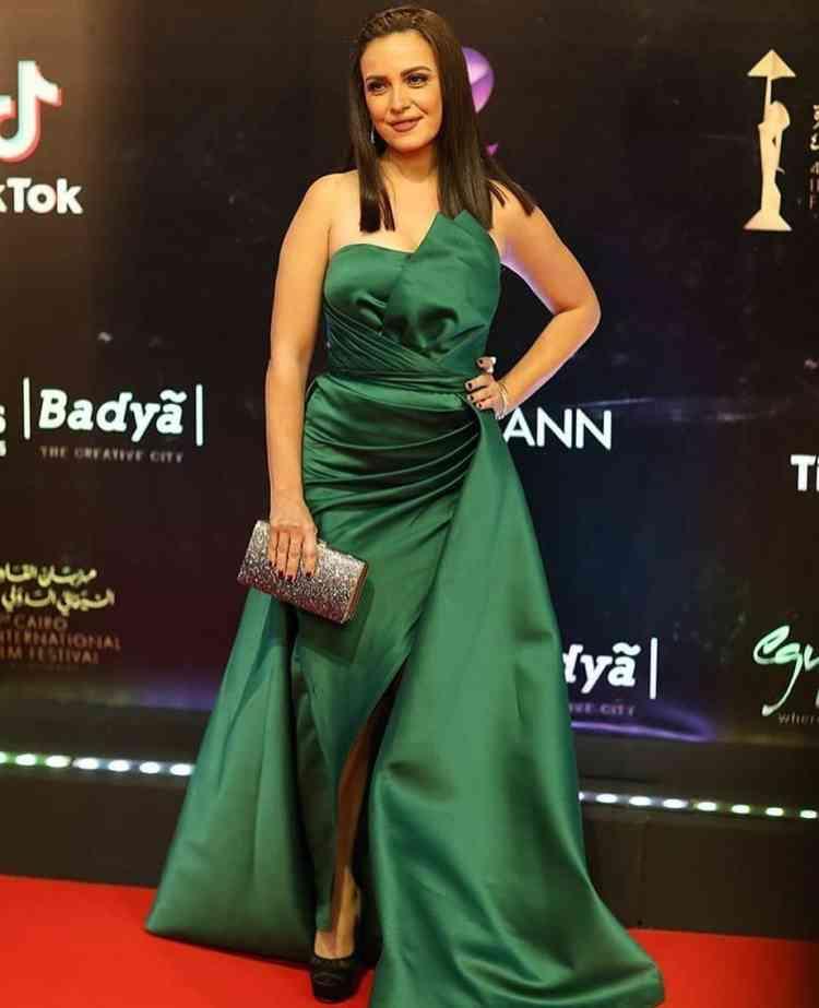 فستان ريهام عبدالغفور في مهرجان القاهرة السينمائي 2019