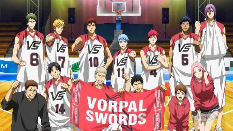 أفلام أنمي يابانية Kuroko no Basket: Last Game