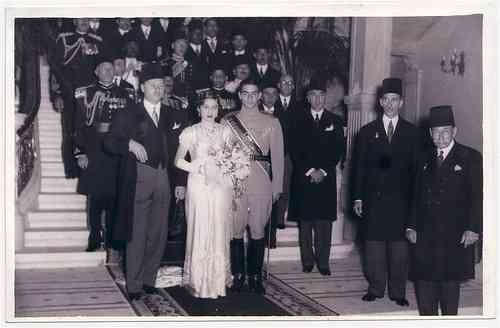 زفاف الأميرة فوزية ومحمد رضا بهلوي