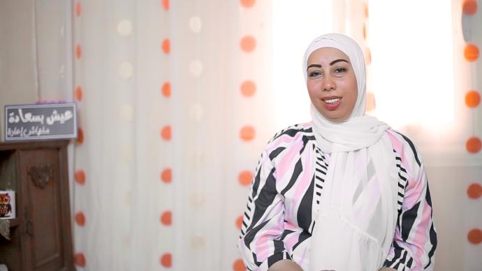 الصحفية دعاء محمد وتأثر عملها بفيروس كورونا