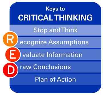 مفاتيح مهارات التفكير الناقد