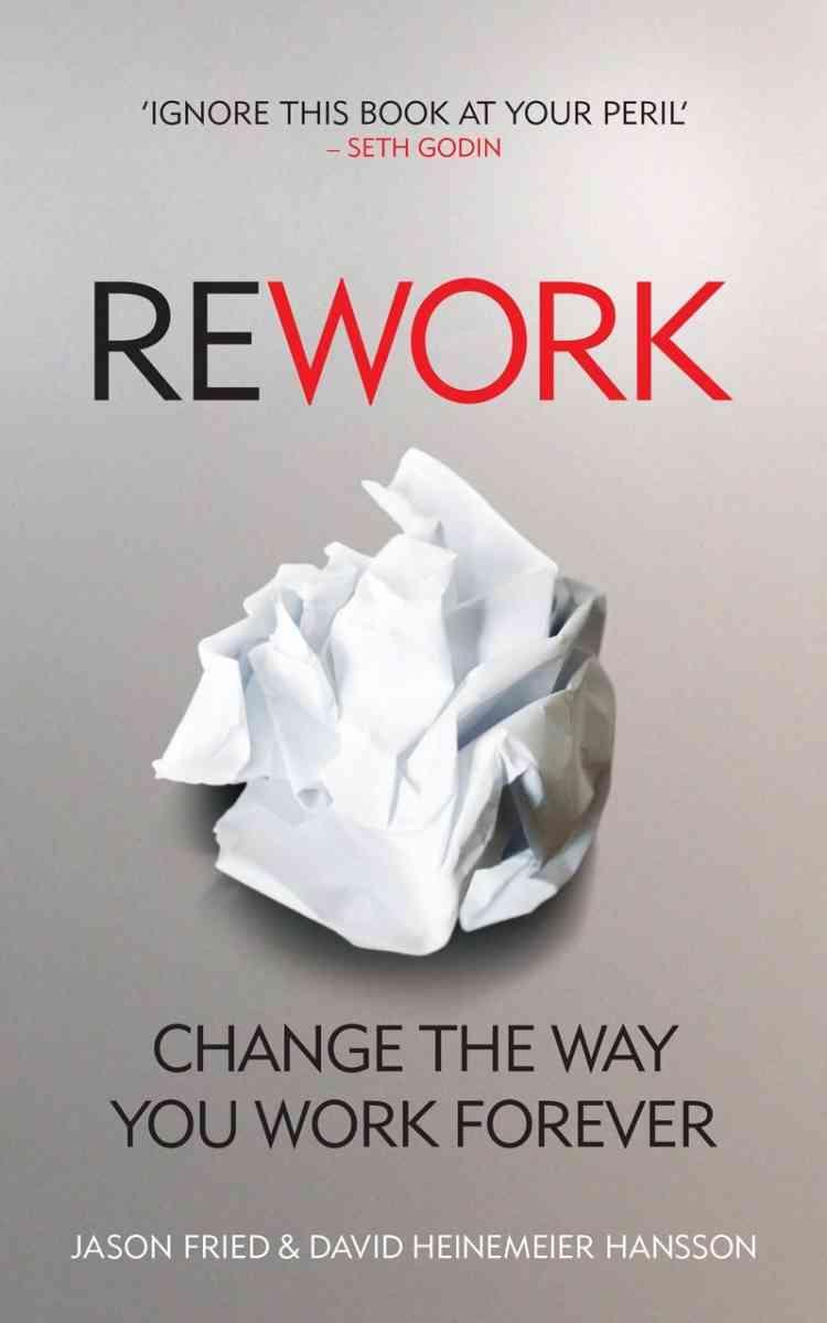 كتب ريادة الأعمال  كتاب Rework