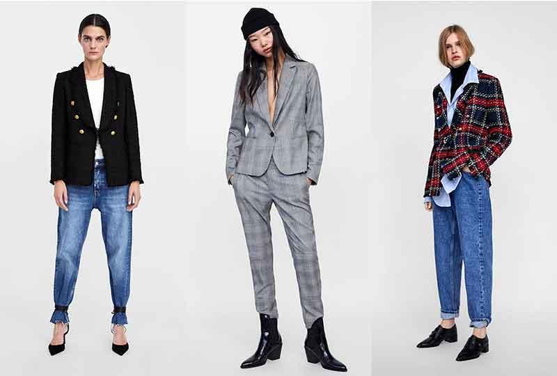 موضة شتاء 2019 الجواكيت البليزر من Zara