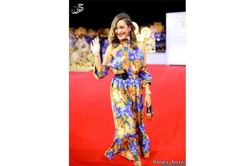 أمينة خليل في مهرجان الجونة 2018