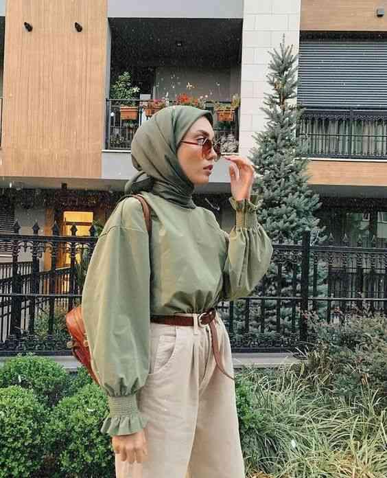لوك كاجوال للحجاب