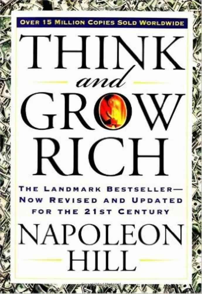 كتب تنمية بشرية كتاب Think and Grow Rich
