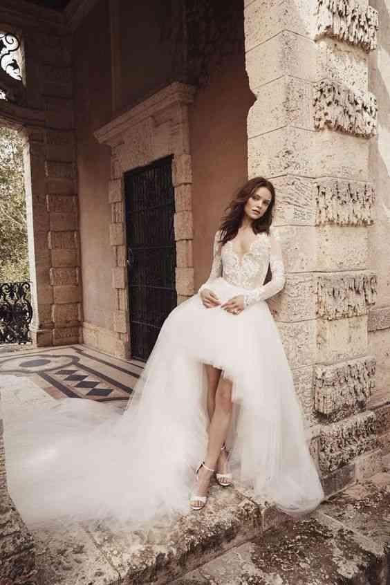 فساتين زفاف 2020 منفوشة