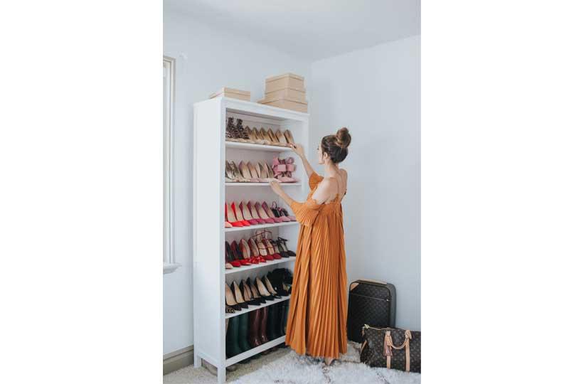أفكار لترتيب البيت خزانة أحذية