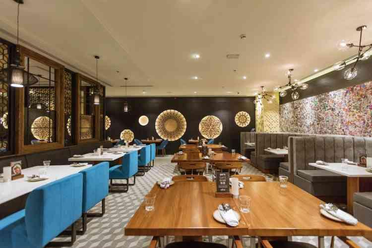 أفضل مطاعم الرياض مطعم زافران الهندي