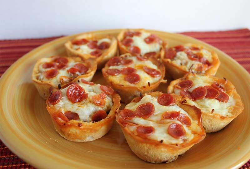 طريقة عمل البيتزا كاب كيك بيتزا
