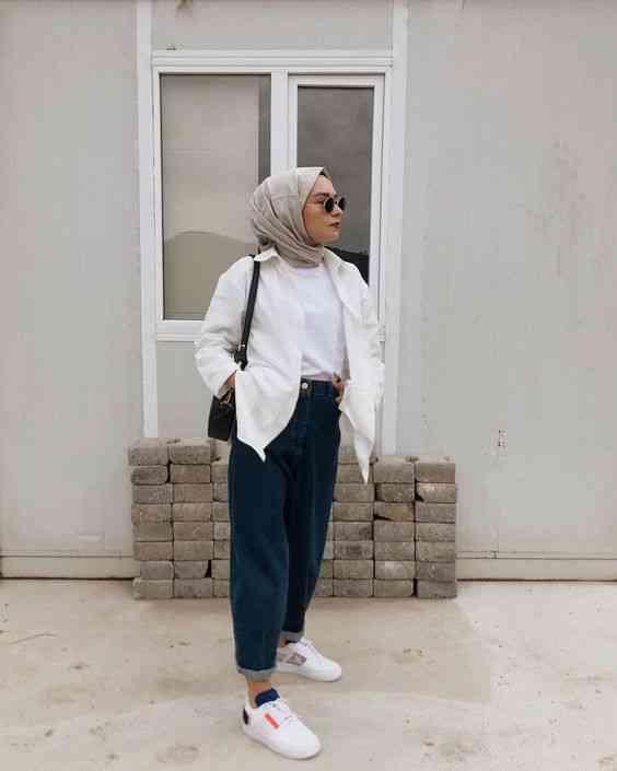 ستايل كاجوال للحجاب
