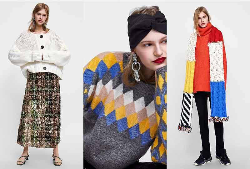 موضة شتاء 2019 البلوفرات من Zara