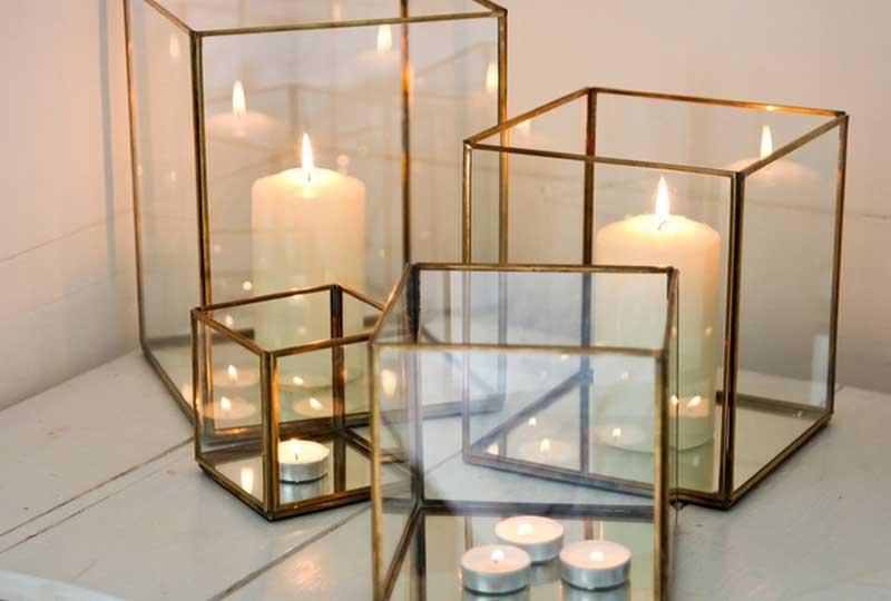 أفكار هدايا للكريسماس مصابيح وشمع ذو رائحة