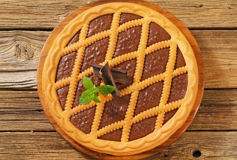 الباستا فلورا بالشوكولاتة