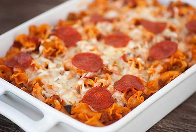 طريقة عمل البيتزا باستا البيتزا