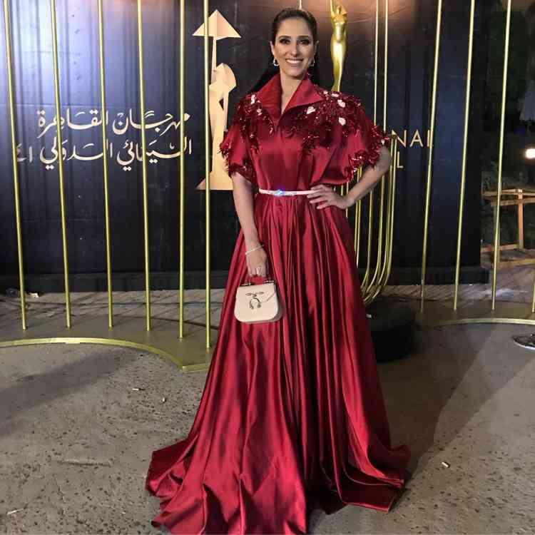 فستان حنان مطاوع في مهرجان القاهرة السينمائي 2019