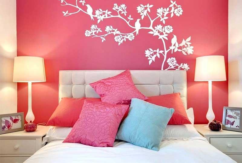 تجديد جدران غرفة النوم