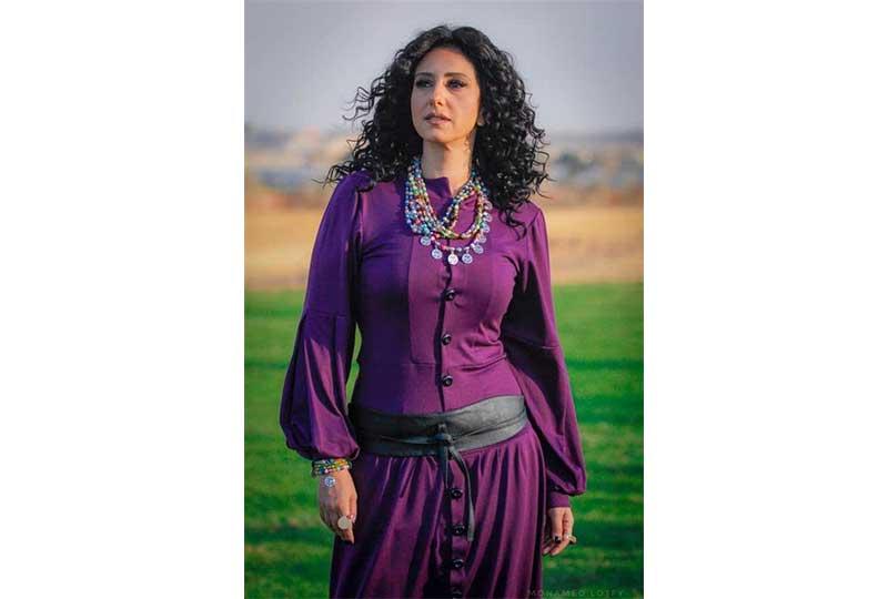 الفنانة حنان مطاوع